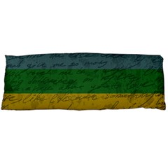 Vintage Flag   Pride Body Pillow Case Dakimakura (two Sides) by ValentinaDesign