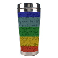 Vintage Flag   Pride Stainless Steel Travel Tumblers by ValentinaDesign