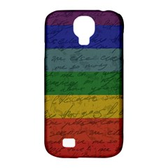 Vintage Flag   Pride Samsung Galaxy S4 Classic Hardshell Case (pc+silicone) by ValentinaDesign