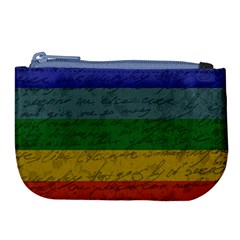 Vintage Flag   Pride Large Coin Purse