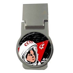 Valentina Tereshkova Money Clips (round)  by Valentinaart