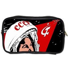 Valentina Tereshkova Toiletries Bags 2 Side by Valentinaart