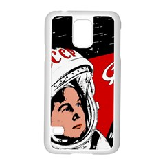 Valentina Tereshkova Samsung Galaxy S5 Case (white) by Valentinaart