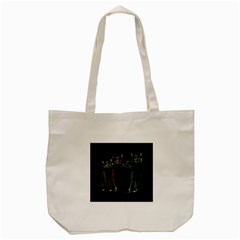 Cats Tote Bag (cream) by Valentinaart