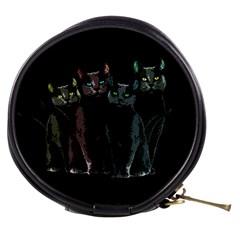Cats Mini Makeup Bags by Valentinaart