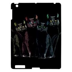 Cats Apple Ipad 3/4 Hardshell Case by Valentinaart