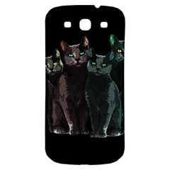 Cats Samsung Galaxy S3 S Iii Classic Hardshell Back Case by Valentinaart