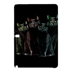 Cats Samsung Galaxy Tab Pro 12 2 Hardshell Case by Valentinaart