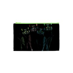 Cats Cosmetic Bag (xs) by Valentinaart