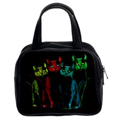 Cats Classic Handbags (2 Sides) by Valentinaart