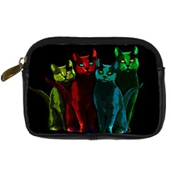 Cats Digital Camera Cases by Valentinaart