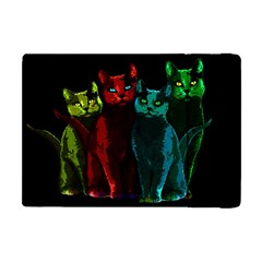 Cats Apple Ipad Mini Flip Case by Valentinaart
