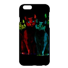 Cats Apple Iphone 6 Plus/6s Plus Hardshell Case by Valentinaart
