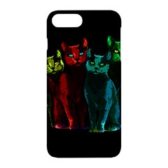 Cats Apple Iphone 7 Plus Hardshell Case by Valentinaart
