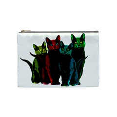 Cats Cosmetic Bag (medium)  by Valentinaart