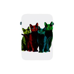 Cats Apple Ipad Mini Protective Soft Cases by Valentinaart