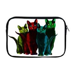 Cats Apple Macbook Pro 17  Zipper Case by Valentinaart