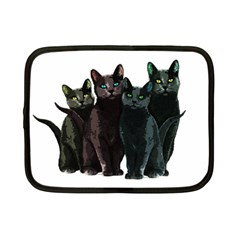 Cats Netbook Case (small)  by Valentinaart