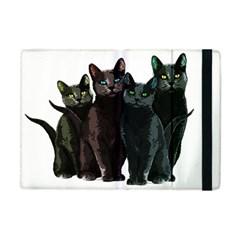 Cats Apple Ipad Mini Flip Case by Valentinaart