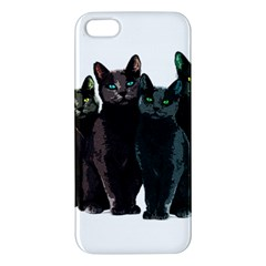 Cats Iphone 5s/ Se Premium Hardshell Case by Valentinaart