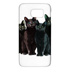 Cats Galaxy S6 by Valentinaart