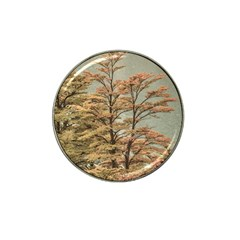 Landscape Scene Colored Trees At Glacier Lake  Patagonia Argentina Hat Clip Ball Marker (4 Pack) by dflcprints