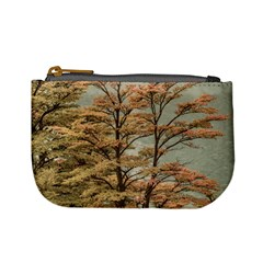 Landscape Scene Colored Trees At Glacier Lake  Patagonia Argentina Mini Coin Purses by dflcprints