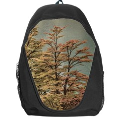 Landscape Scene Colored Trees At Glacier Lake  Patagonia Argentina Backpack Bag by dflcprints