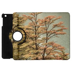 Landscape Scene Colored Trees At Glacier Lake  Patagonia Argentina Apple Ipad Mini Flip 360 Case by dflcprints