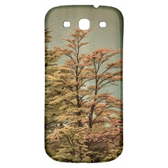 Landscape Scene Colored Trees At Glacier Lake  Patagonia Argentina Samsung Galaxy S3 S Iii Classic Hardshell Back Case by dflcprints