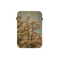 Landscape Scene Colored Trees At Glacier Lake  Patagonia Argentina Apple Ipad Mini Protective Soft Cases by dflcprints
