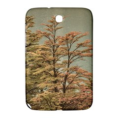 Landscape Scene Colored Trees At Glacier Lake  Patagonia Argentina Samsung Galaxy Note 8 0 N5100 Hardshell Case  by dflcprints