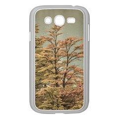 Landscape Scene Colored Trees At Glacier Lake  Patagonia Argentina Samsung Galaxy Grand Duos I9082 Case (white) by dflcprints