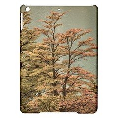 Landscape Scene Colored Trees At Glacier Lake  Patagonia Argentina Ipad Air Hardshell Cases by dflcprints