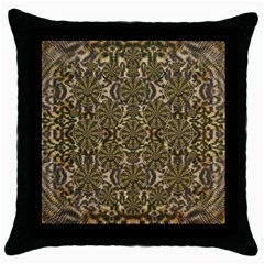 A Big Kitten I Am And Soft Throw Pillow Case (black) by pepitasart
