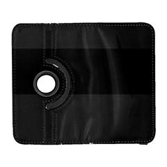 Gray And Black Thick Stripes Galaxy S3 (flip/folio) by theunrulyartist
