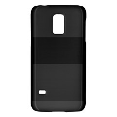 Gray And Black Thick Stripes Galaxy S5 Mini by theunrulyartist