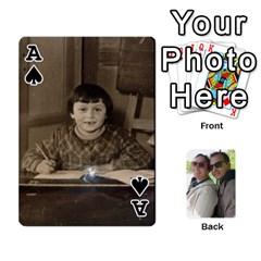 Ace Mariage Steph Marie By Maxmen   Playing Cards 54 Designs   5n3x1xsjagml   Www Artscow Com Front - SpadeA