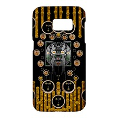 Foxy Panda Lady With Bat And Hat In The Forest Samsung Galaxy S7 Hardshell Case