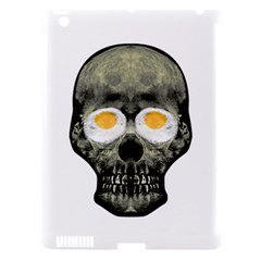 Skull With Fried Egg Eyes Apple Ipad 3/4 Hardshell Case (compatible With Smart Cover) by dflcprints