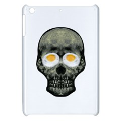 Skull With Fried Egg Eyes Apple Ipad Mini Hardshell Case by dflcprints