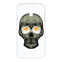 Skull With Fried Egg Eyes Samsung Galaxy S4 I9500/i9505 Hardshell Case by dflcprints