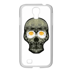 Skull With Fried Egg Eyes Samsung Galaxy S4 I9500/ I9505 Case (white) by dflcprints