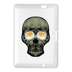Skull With Fried Egg Eyes Kindle Fire Hdx 8 9  Hardshell Case by dflcprints