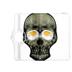 Skull With Fried Egg Eyes Kindle Fire Hdx 8 9  Flip 360 Case by dflcprints