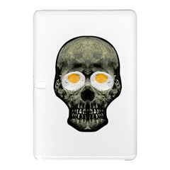 Skull With Fried Egg Eyes Samsung Galaxy Tab Pro 10 1 Hardshell Case by dflcprints