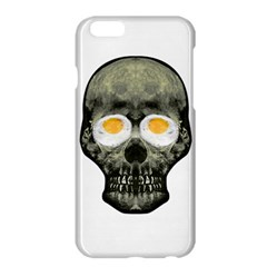 Skull With Fried Egg Eyes Apple Iphone 6 Plus/6s Plus Hardshell Case by dflcprints