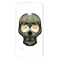 Skull With Fried Egg Eyes Galaxy Note 4 Back Case by dflcprints