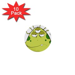 The Most Ugly Alien Ever 1  Mini Buttons (10 Pack)  by Catifornia
