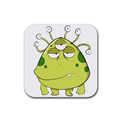 The Most Ugly Alien Ever Rubber Square Coaster (4 Pack)  by Catifornia
